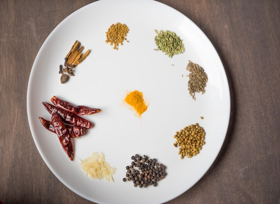 These all the ingredients for the curry powder