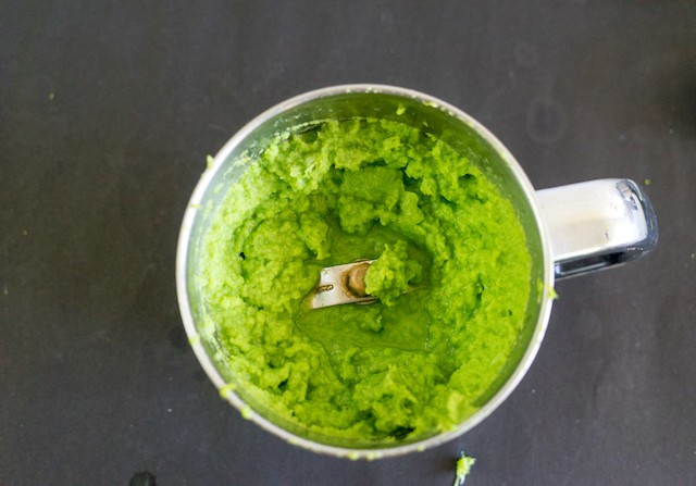 And grind them into a fine paste, you could also use vegetable stock to grind them