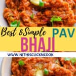 Pav bhaji served in bowl