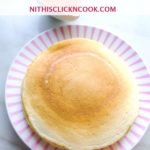 buttermilk pancake served in plate
