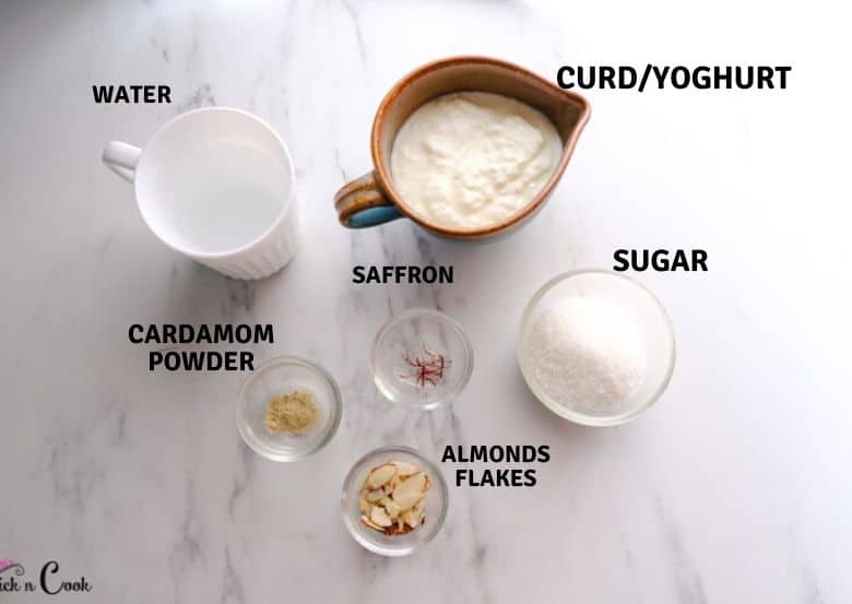 lassi ingredients are taken