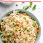 egg fried rice served in bowl