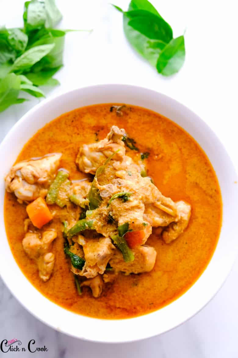 Thai Red Curry with chicken-17