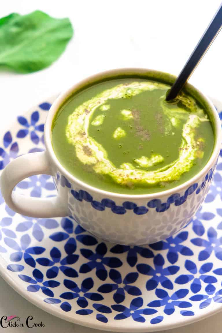 Healthy Palak Soup | Spinach Soup